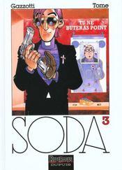 Soda t.3 ; tu ne buteras point - Intérieur - Format classique