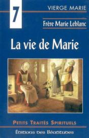 Vie De Marie (La) - Couverture - Format classique