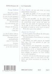 Pour Bobby ; Autour De Martial - 4ème de couverture - Format classique