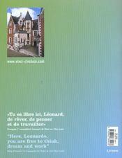 Parc Leonardo Da Vinci - Chateau Du Clos Luce-Amboise - 4ème de couverture - Format classique