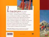 Francois Et Le Loup - 4ème de couverture - Format classique