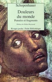 Douleurs Du Monde - Intérieur - Format classique
