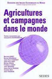 Agricultures Et Campagnes Dans Le Monde - Intérieur - Format classique