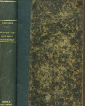 Le Cahier Bleu D'Un Petit Jeune Homme - Couverture - Format classique