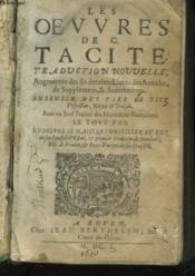 Les Oeuvres De C. Tacite - Couverture - Format classique
