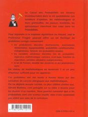 Petits Problemes Quotidiens De Probabilites (Et Leurs Solutions) - 4ème de couverture - Format classique