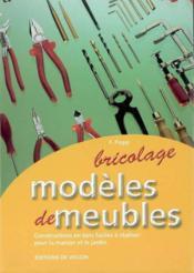 Modeles De Meubles - Couverture - Format classique