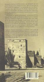 Marrakech Et Sa Campagne - 4ème de couverture - Format classique