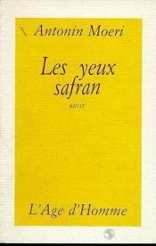 Les Yeux Safran - Couverture - Format classique