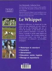 Le whippet - 4ème de couverture - Format classique