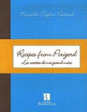 Recipes from perigord / les recettes de ma grand-mère - Couverture - Format classique
