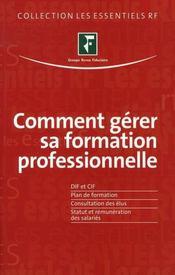 Comment gérer sa formation professionnelle - Intérieur - Format classique