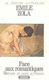 Face aux romantiques - Couverture - Format classique