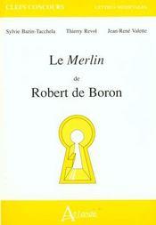 Le Merlin de Robert de Boron - Intérieur - Format classique