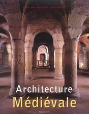 Architecture du moyen age - Intérieur - Format classique