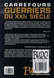 Guerriers du xxi siècle - 4ème de couverture - Format classique