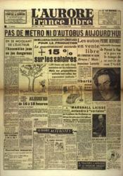 Aurore France Libre (L') N°1254 du 24/09/1948 - Couverture - Format classique