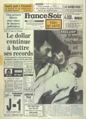 France Soir Trio Quarte N°12221 du 30/11/1983 - Couverture - Format classique