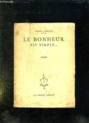Le Bonheur Est Simple. - Couverture - Format classique