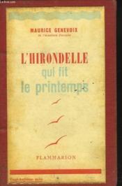 L'Hirondelle Qui Fit Le Printemps - Couverture - Format classique