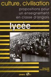 Vente  Culture,Civilisation Lycee  - Cain