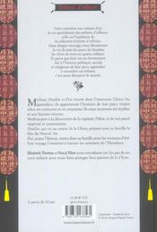 Meihua, Shuilin Et Dui Vivent En Chine - 4ème de couverture - Format classique