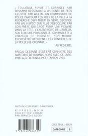Une Pieuvre Dans La Tete - 4ème de couverture - Format classique