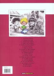 Cédric t.19 ; on se calme - 4ème de couverture - Format classique