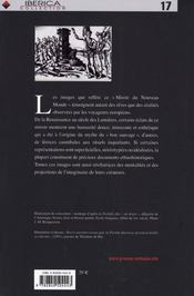 Miroir du nouveau monde ; images primitives de l'amérique - 4ème de couverture - Format classique