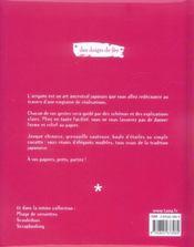 Origami - 4ème de couverture - Format classique