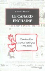 Le Canard Enchaine - Couverture - Format classique