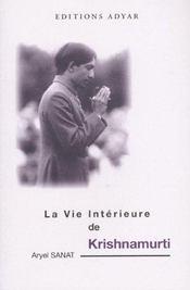 Vie Interieure De Krishnamurti - Intérieur - Format classique