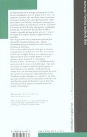 Fonctions Sociales Du Blues - 4ème de couverture - Format classique