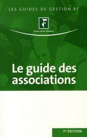 Le guide des associations (7e édition) - Intérieur - Format classique
