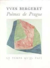 Poemes De Prague - Couverture - Format classique