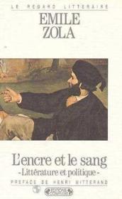 L'Encre Et Le Sang - Couverture - Format classique