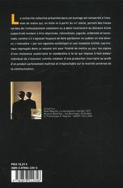 Les lyrismes interdits - 4ème de couverture - Format classique