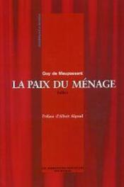 La Paix Du Menage - Couverture - Format classique