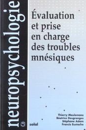 Evaluation Et Prise En Charge Des Troubles Mnesiques - Intérieur - Format classique