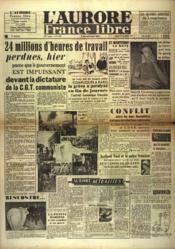 Aurore France Libre (L') N°1255 du 25/09/1948 - Couverture - Format classique