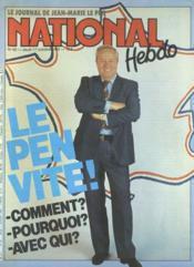 National Hebdo N°65 du 17/10/1985 - Couverture - Format classique