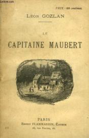 Le Capitaine Maubert. - Couverture - Format classique