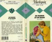De Passion Et De Haine - Couverture - Format classique