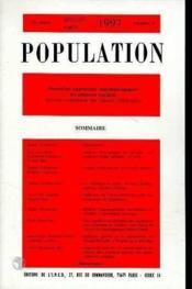 Population 1997 N.4 Juillet-Aout - Couverture - Format classique