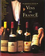Grands et petits vins de france - Intérieur - Format classique