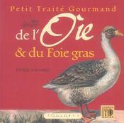 Petit traité gourmand de l'oie et du foie gras - Intérieur - Format classique