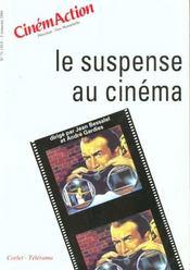 CINEMACTION T.71 ; le suspense au cinéma - Intérieur - Format classique