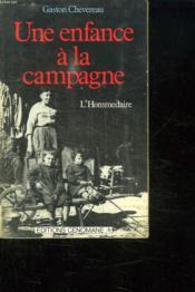Une Enfance A La Campagne - Couverture - Format classique