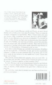 Une Enfance A La Campagne - 4ème de couverture - Format classique