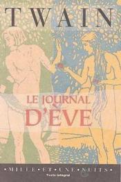 Le Journal D'Eve - Couverture - Format classique